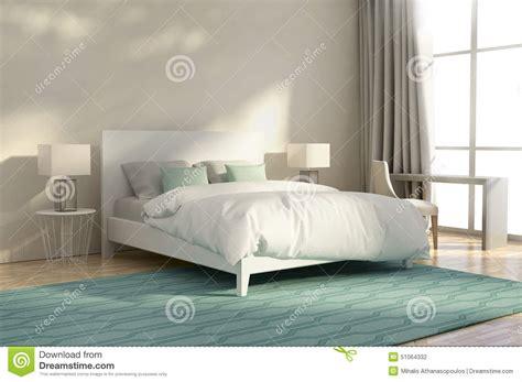 chambre a coucher luxe chambre 224 coucher de luxe blanche et verte illustration