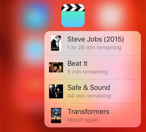 Ios App Resume Playback Useful 3d Touch Tips For The Ios App