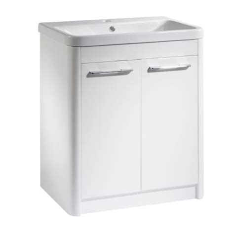 r2 bathroom furniture contour 700 freestanding unit white r2 bathrooms