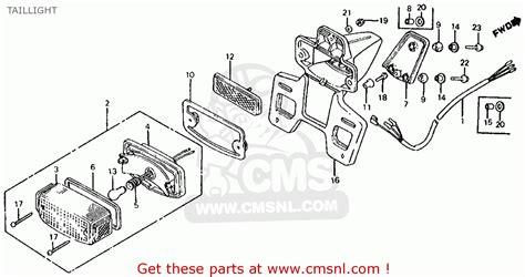 crf150r wiring diagram wiring diagram