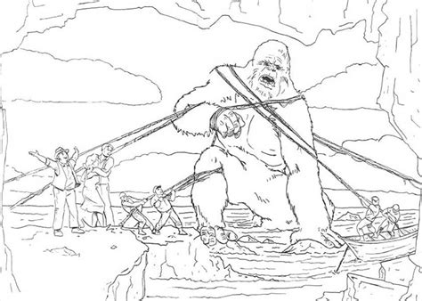 free coloring pages of king kong king kong coloring page coloring home