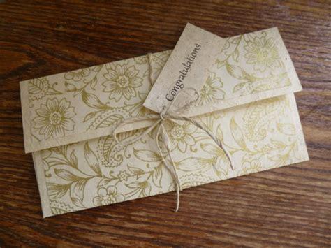 Handmade Gift Envelopes - personalised handmade gift voucher envelope by