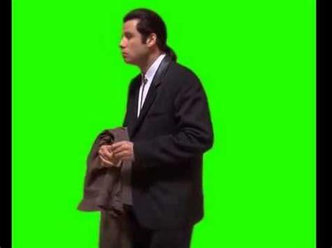 John Travolta Meme - confused john travolta meme green screen chroma key download youtube