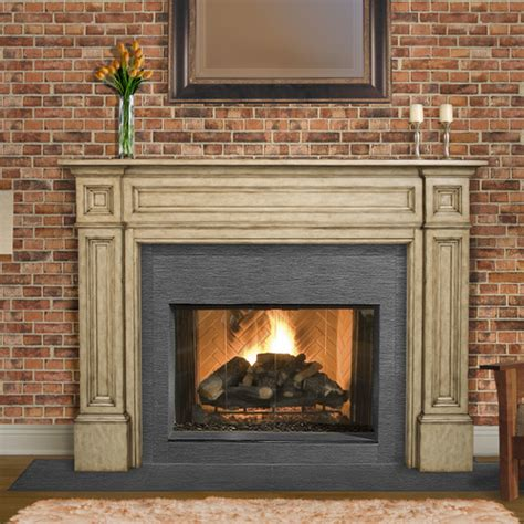 pearl mantels the classique fireplace mantel surround