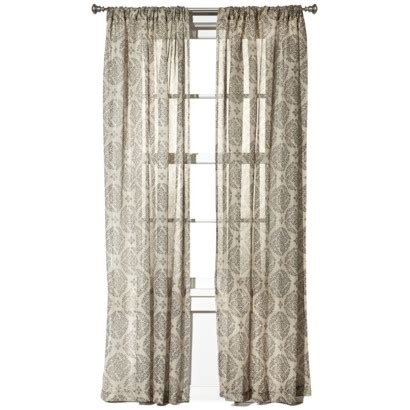 target curtains gray grey medallion curtains target wow pinterest
