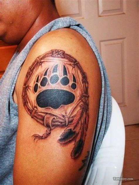 native american bear tattoos 17 best ideas about paw tattoos on