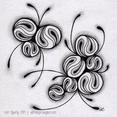 fescue zentangle pattern focus on fescue 169 lori byerly doodle pinterest