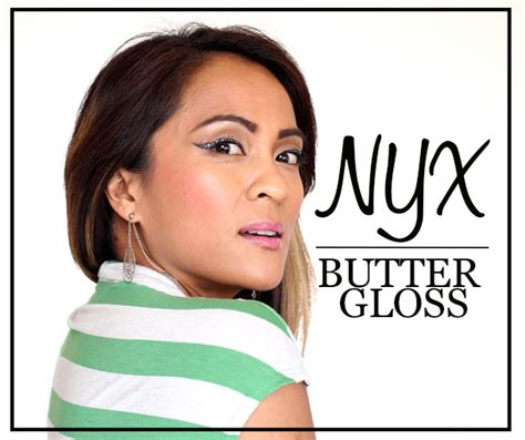 Lipstik Nyx Bandung nyx cosmetics butter gloss swatches
