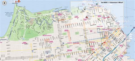 map of san francisco map of san francisco interactive and printable maps