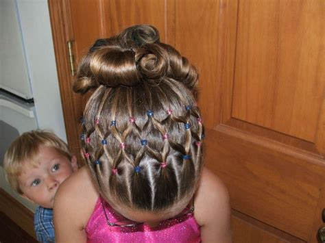hairstyles for a gymnastics competition 17 best ideas about gymnastics hairstyles on pinterest