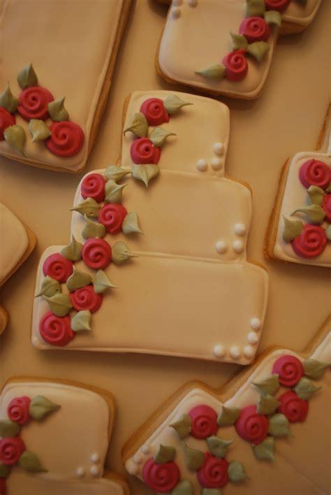 Wedding Cake Cookies by The Baking Sheet Wedding Cake Cookies