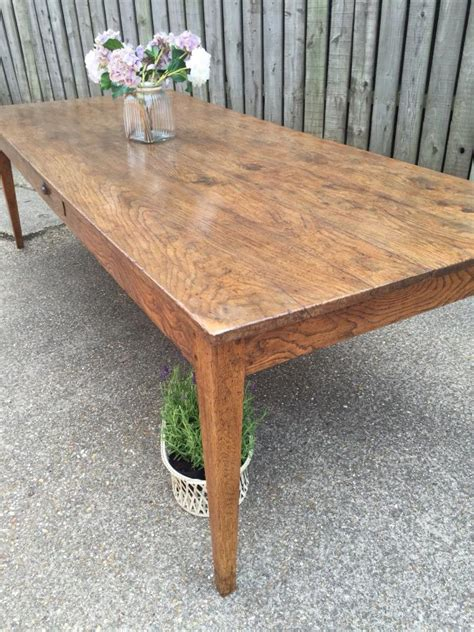 farmhouse oak dining table oak antique farmhouse table antique tapered leg oak