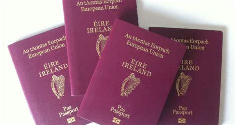 consolato irlandese in italia cittadinanza irlandese requisiti per il passaporto