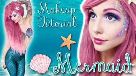 mermaid tutorial mermaid makeup tutorial youtube