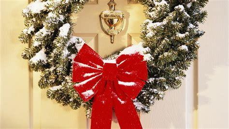 christmas wreath tumblr ribbon wreath
