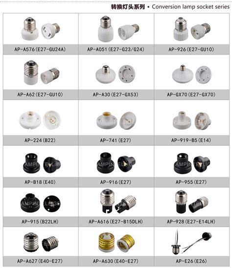 light bulb holder types lightbulb types dutchglow org
