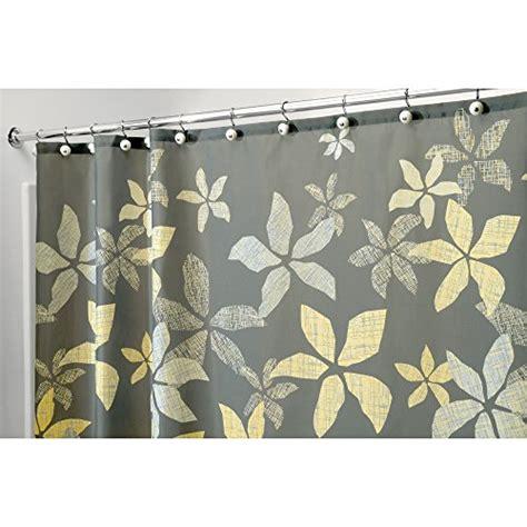 shower curtain longer than 180 cm interdesign tessa fabric shower curtain 180 cm x 180 cm