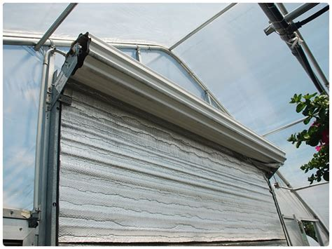 Insulated Roll Up Garage Door by Insulated Roll Up Doors Rimol Greenhouses