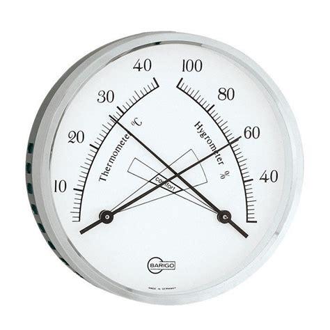 Termometer Analog barigo analog comfort thermometer hygrometer lapadd