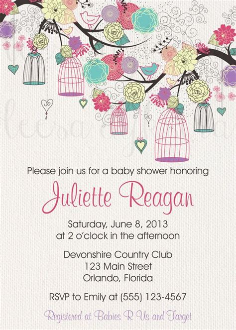 Bird Baby Shower Invitations by 79 Best Images About Bird Baby Shower On