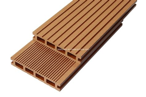 composite wood china wood plastic composite floor wpc decking bd140h25b