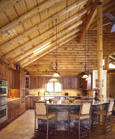 Log Cabin Lighting Ideas by 1000 Ideas About Cathedral Ceilings On High