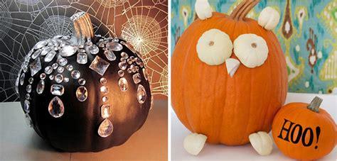 como decorar calabazas sin cortarlas decorar calabaza para halloween simple ideas de decoracin
