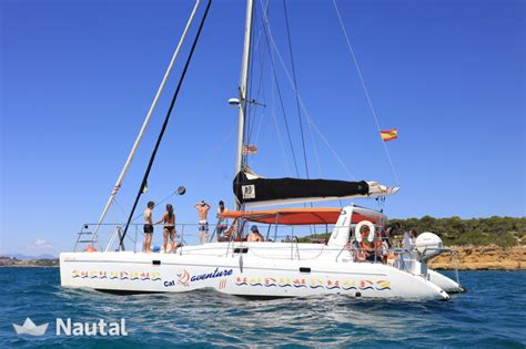 catamaran in spanish translation rental catamaran in barcelona nautal