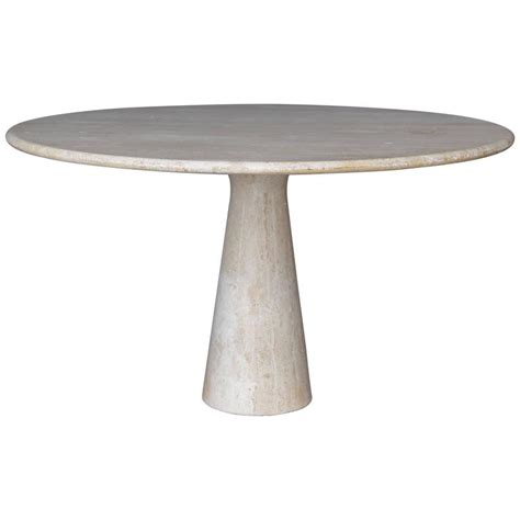 Travertine Dining Table For Sale Travertine Dining Table In The Style Of Angelo Mangiarotti For Sale At 1stdibs