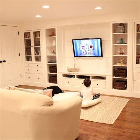 Ikea Floor Cabinets Family Room Built In Ideas Modular Living Room   design and decor basement ideas home decor shelving ideas