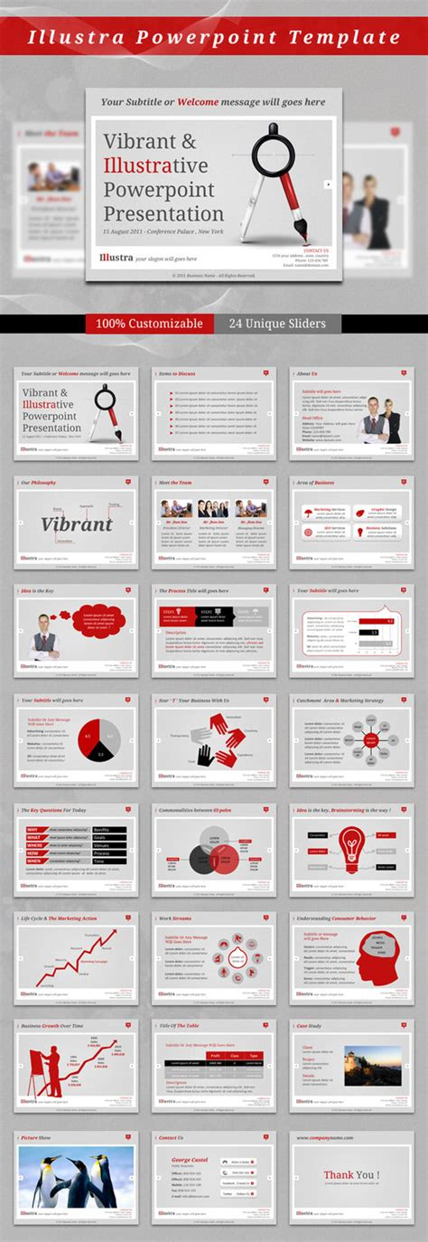 illustra powerpoint template by kh2838 on deviantart