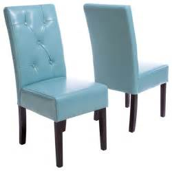 teal blue leather dining