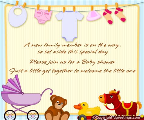 Baby Shower Blessings Words by Baby Shower Invitation Wording
