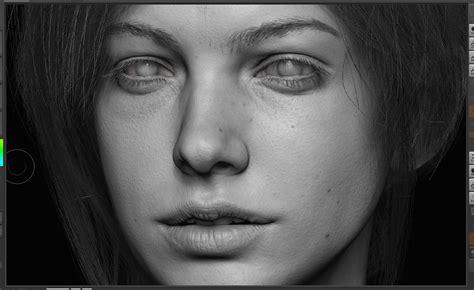 zbrush eyebrows tutorial portrait the art of rafael grassetti