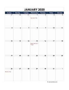printable  indian calendar templates  holidays