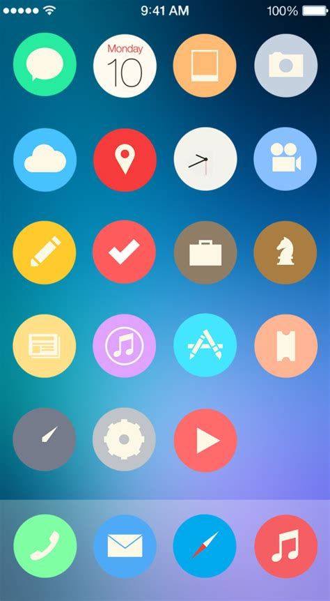iphone themes names theme iphone新作アイコン winterboardテーマ5種 2014 06 21 bitzedge