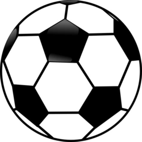 black and white balls black and white soccer clip at clker vector