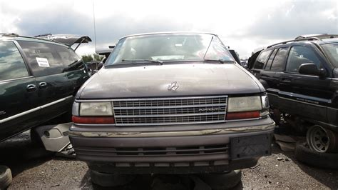 car engine repair manual 1993 plymouth voyager parental controls junkyard find 1993 plymouth voyager with five speed manual