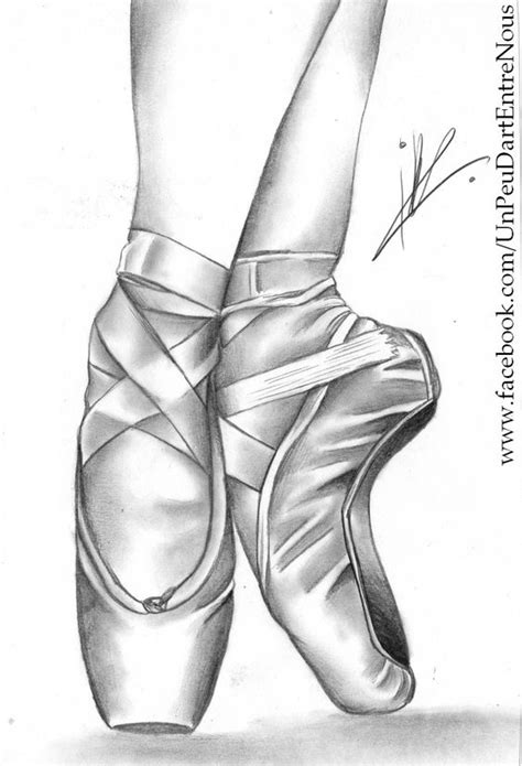 how to draw ballet slippers drawing ballerina pointe shoes the tutorial here