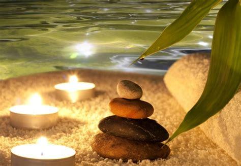 imagenes relajantes con velas foto mural piedras y velas zen