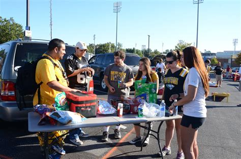 towson tailgating a bust stricter baltimore sun
