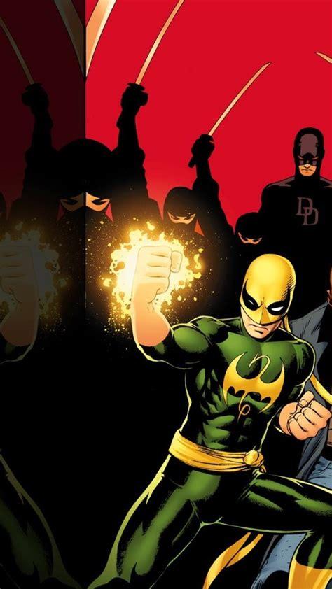 iron fist marvel comics wallpaper