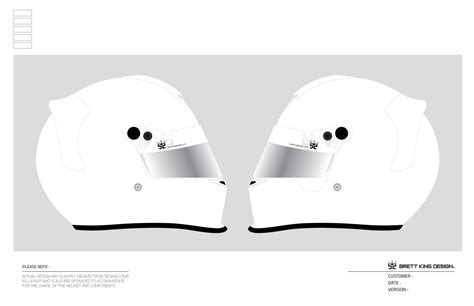 helmet template brett king design helmet templates