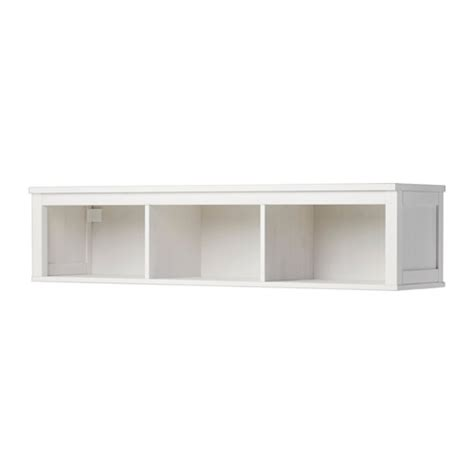 hemnes rak sambung dinding warna putih ikea