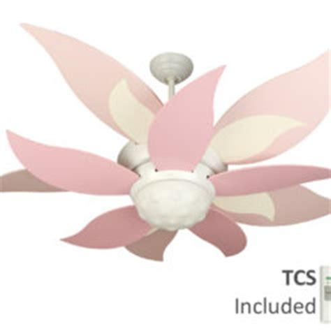 flower petal ceiling fan bloom l a l that blossoms into a flower for lighting