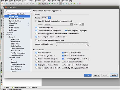 Reset Android Studio   reset android studio appearance settings to default