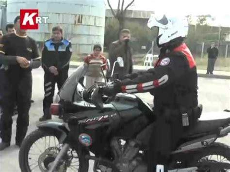 yunus polisleri ilk olarak hangi motosikletle goereve baslar
