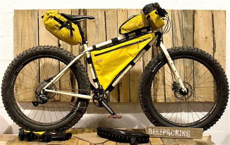 a complete list of bikepacking bag and frame bag