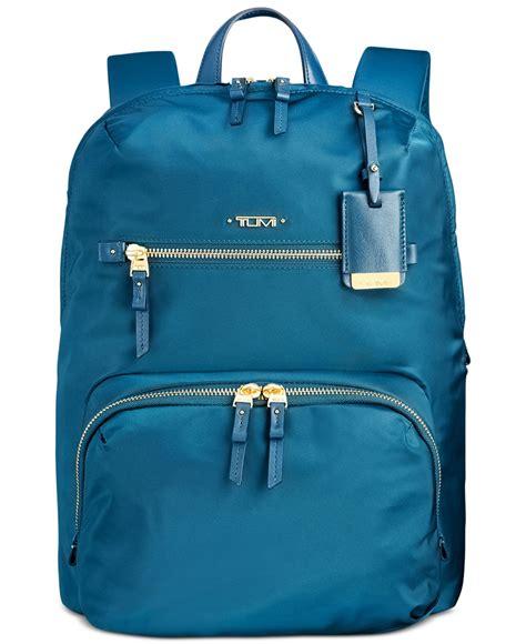Backpack Tumi Voyageur Halle Hijau So0006 lyst tumi voyageur halle backpack in blue