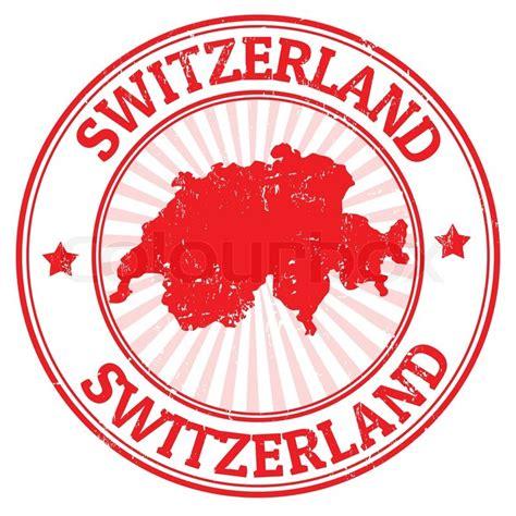 Briefmarken Online Drucken Schweiz by Schweiz Briefmarke Stock Vektor Colourbox